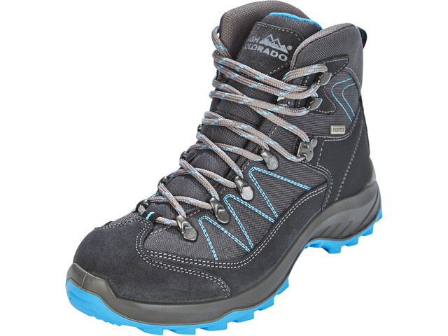 online store 596c0 3554b High Colorado Ultra Hike Mid High Tex Hiking Shoes Women anthracite/blue